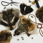Fur Faces - Choose Type - Craft Grade Taxidermy Scrap Mask