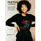 AVON FESTIVE MERRY KISSMAS JUMPER WITH MISTLETOE SEQUINS