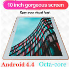 """10"""" 128GB Tablet PC Octa Core 3G WIFI Bluetooth Phablet Tablet For Android HD"""