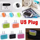 4 Port FAST QUICK CHARGE QC3.0 USB HUB Wall Charger Power Adapter US UK EU Plug