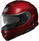 Shoei Neotec II Metallic Modular Motorcycle Helmet Wine Red