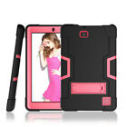 For RCA Cambio W101V2/RCA10 Viking Shockproof Rugged Built Kickstand Tablet Case