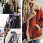 Women Loose Trench Warm Coat Parka Motor Oversized Winter Long Jacket Outwear