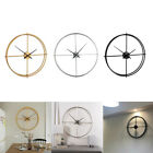 Retro Wall Mounted Clock 40cm/15.7 Double Layer Wall Clock Battery Operated