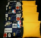 UTAH JAZZ MENS BASKETBALL Cornhole Bean Bags 8 ACA Regulation CORNHOLE BAGS on eBay