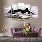 5Pcs Abstract Naked Sexy Women Handmade Oil Painting Canvas Wall Art Unframed