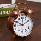Alarm Clock Retro Creative Stereoscopic Dial Backlight Desk Twin Loud Bell Watch