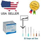 Kyпить Easy Glide Needles Box 50 or 100 All Size Gauges - Blunt Luer Lock No Syringe на еВаy.соm