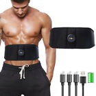 Abdominal Fitness Training Body Slimming Belt Support Fat Burning Massager New