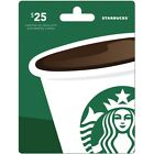 Starbuck Gift Card - $10 - $20 - $25 - $50 For Sale