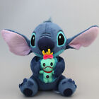 "Cute Lilo and Stitch Holding Scrump 10"" Soft Stuffed Animal Plush Toy Gift Doll"