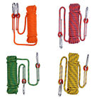 20m 10mm Climbing Static Rope Safety Escape Auxiliary Hunting Camping Tent Rope