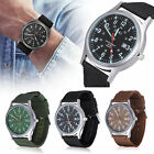 Durable Sports Canvas Quartz Date Nylon Strap Band Army Military Wrist Watches image