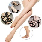 Toeless Sheer Summer Tights 15 Denier Open Toe Hosiery Pantyhose Ultra-Thin