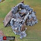 Ruined Boat House - Clorehaven Goblin Grotto Terrain Scatter D&D DnD Warhammer