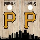 Pittsburgh Pirates Cornhole Wrap MLB Game City Skyline Skin Vinyl Decal CO935 on Ebay