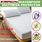 Mattress Cover Protector Waterproof Pad Queen Size Bed Cover Hypoallergenic image