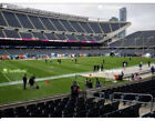 2 Tickets LL 113 Row 18 Covered Seats Chicago Bears vs. New York Giants Tickets