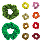 Women Soft Velvet Hair Ring Ties Scrunchies Ponytail Fashion Stretchy Hair Bands