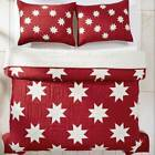 Hand Quilted Quilt in Red and White [ID 3486680] image