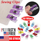 100PCS/Pack Clover Wonder Clips Clamp for Craft Quilting Sewing Knitting Crochet