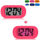 Alarm Multifunction Clock Silicone Shell Large Display Electronic Mute Backlight