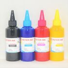 4X100ML pigment refill Ink for 4 colors Epson Printer CISS A