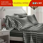 Deluxe Hotel 1800 Thread Count 100% Egyptian Comfort 6PCS Sheet Set Dobby Stripe image