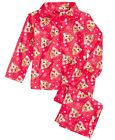 NWT Disney Rudolph the Red-Nosed Reindeer Red Button Down Pajamas Set 18 24 M