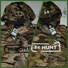 Under Armor UA Hunt Men Tech Terry Forest Camo Hunting Hoodies Large XL 1325603