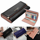 Fashion Women Wallet Large Capacity Clutch Purse Card Phone Holder Lady Handbag