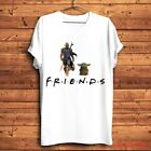 Star Wars The Mandalorian And Cute Baby Yoda Friends Unisex T-Shirt Funny Gift $9.99 USD on eBay