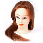 Professional Manequin head Human Hair Barber Practice Hairstyle Hairdresser DoDS