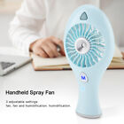 USB Mini Protable Air Conditioner Cooler Hand Water Mist Lovely Fan For Travel