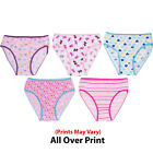 Girls Panties Underwear for Kids 5PCK Size  4- 16 PRINTS MAY VARY