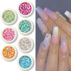 Colorful Star Mini Beads 3D Nail Rhinestones Nail Art Decoration Tips Stickers