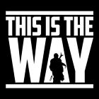 This Is The Way | Star Wars The Mandalorian | Vinyl DECAL Sticker $1.99 USD on eBay