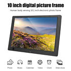 10Inch HD Digital Photo Frame IPS Screen Display Electronic Picture Album Player