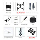 Drone X Pro 2.4G Aerial Camera WIFI FPV With 4K HD Foldable Mini RC Quadcopter ^