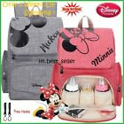 Mickey mouse Baby Diaper Bag Backpack Minnie Mouse Large Capacity Nursing Mom