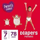 Parent's Choice Diapers, Size 3, 328 Diapers (Mega Box)