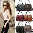 Woman Purses and Fashion Shoulder Handbags, PU Leather Crossbody Handbag US image