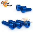 CNC Fuel Cap Bolts Replacement Fit Suzuki GSXR 750 GSX-S1000 /ABS 15-16