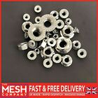Flanged Nuts For M4,5,6,8,10,12 Metric Bolts & Screws A2 Stainless Steel