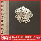 M3.5 (3.5mm) Form A Flat Washers For Metric Bolts & Screws A2 Stainless Steel