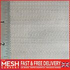 0.75mm SS304 Steel (0.75mm Hole x 1.5mm Pitch x 0.6mm Thick) Perforated Mesh