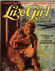 Live Girl Stories Nov 1928 Cornell Woolrich; FIRST issue; Stein Cvr image