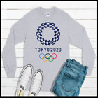 2020 Olympic Games Tokyo Long Sleeve T Shirt Men's And Youth Sizes Olympics NEW image