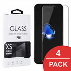 Kyпить 4x Schutz Glas Display Folie Cover 9H - Für iPhone 11 Pro Max X XS 6 6S 7 8 Plus на еВаy.соm