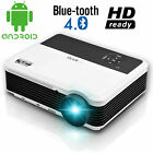 LED Android Blue-tooth Projector Full HD Wifi Support 1080P Black Friday Party